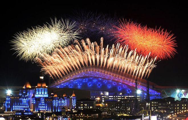 Церемония открытия Олимпиады в Сочи состоялась - повтор трансляции